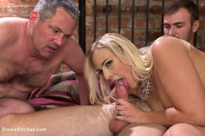 Photo number 30 from Cuckold my husband with his adopted son! shot for Divine Bitches on Kink.com. Featuring Angel Allwood, Christian Wilde and Jimmy Broadway in hardcore BDSM & Fetish porn.