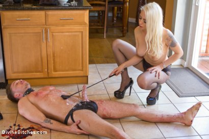 Photo number 12 from Fantasy Package: Domestic Servitude shot for Divine Bitches on Kink.com. Featuring Lorelei Lee and Lucas Knight in hardcore BDSM & Fetish porn.