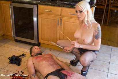 Photo number 1 from Fantasy Package: Domestic Servitude shot for Divine Bitches on Kink.com. Featuring Lorelei Lee and Lucas Knight in hardcore BDSM & Fetish porn.