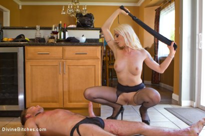Photo number 2 from Fantasy Package: Domestic Servitude shot for Divine Bitches on Kink.com. Featuring Lorelei Lee and Lucas Knight in hardcore BDSM & Fetish porn.