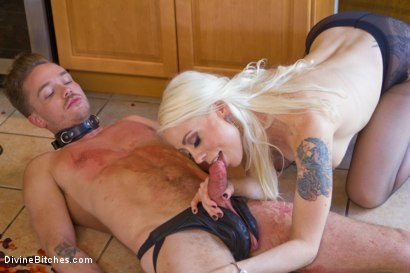 Photo number 6 from Fantasy Package: Domestic Servitude shot for Divine Bitches on Kink.com. Featuring Lorelei Lee and Lucas Knight in hardcore BDSM & Fetish porn.