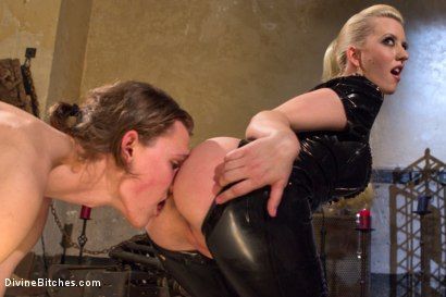 Photo number 14 from If you don't keep your hands off your cock I will do it for you! shot for Divine Bitches on Kink.com. Featuring Cherry Torn and Garett Nova in hardcore BDSM & Fetish porn.