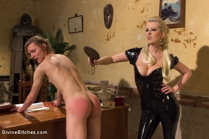 Photo number 6 from If you don't keep your hands off your cock I will do it for you! shot for Divine Bitches on Kink.com. Featuring Cherry Torn and Garett Nova in hardcore BDSM & Fetish porn.