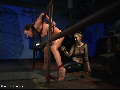 Photo number 12 from Chantas Bitches Lesbian Rope Bondage with Denice K shot for Chantas Bitches on Kink.com. Featuring Denice K in hardcore BDSM & Fetish porn.