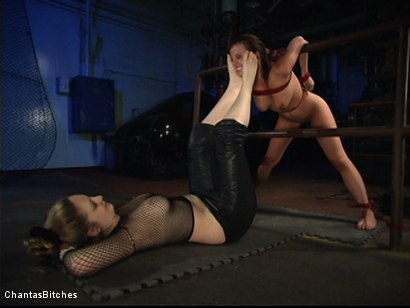 Photo number 14 from Chantas Bitches Lesbian Rope Bondage with Denice K shot for Chantas Bitches on Kink.com. Featuring Denice K in hardcore BDSM & Fetish porn.