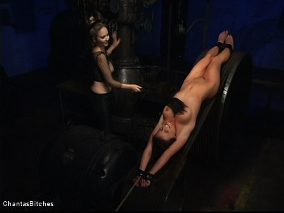 Photo number 3 from Chantas Bitches Lesbian Rope Bondage with Denice K shot for Chantas Bitches on Kink.com. Featuring Denice K in hardcore BDSM & Fetish porn.