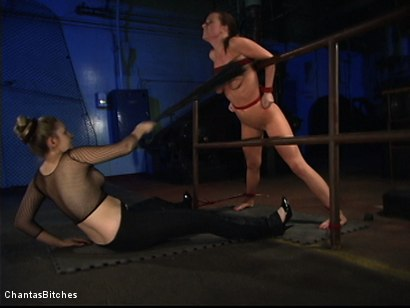 Photo number 6 from Chantas Bitches Lesbian Rope Bondage with Denice K shot for Chantas Bitches on Kink.com. Featuring Denice K in hardcore BDSM & Fetish porn.