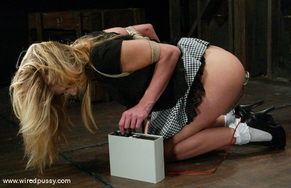 Photo number 4 from Leah Luv shot for Wired Pussy on Kink.com. Featuring Leah Luv in hardcore BDSM & Fetish porn.