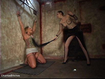 Photo number 1 from Flower Tucci Destroyed In Grueling Bondage shot for Chantas Bitches on Kink.com. Featuring Flower Tucci in hardcore BDSM & Fetish porn.