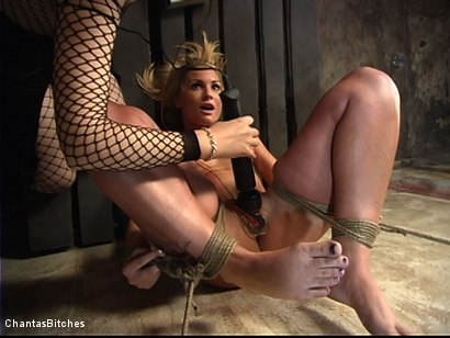 Photo number 10 from Flower Tucci Destroyed In Grueling Bondage shot for Chantas Bitches on Kink.com. Featuring Flower Tucci in hardcore BDSM & Fetish porn.