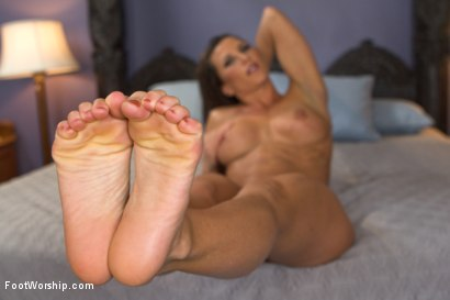 Photo number 11 from Foot Sex Research shot for Foot Worship on Kink.com. Featuring Casey Calvert  and Ariel X in hardcore BDSM & Fetish porn.