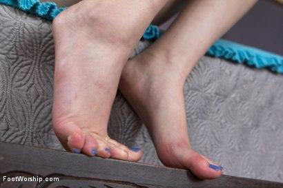 Photo number 6 from Foot Sex Research shot for Foot Worship on Kink.com. Featuring Casey Calvert  and Ariel X in hardcore BDSM & Fetish porn.