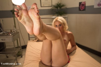 Photo number 7 from Naughty Foot Nurses: Part One shot for Foot Worship on Kink.com. Featuring Dylan Ryan, Aiden Starr and Cliff Adams in hardcore BDSM & Fetish porn.