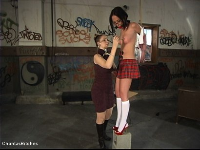 Photo number 2 from Punishment And More Punishment shot for Chantas Bitches on Kink.com. Featuring Veronica Jett in hardcore BDSM & Fetish porn.