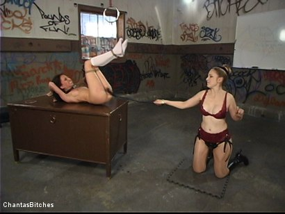 Photo number 16 from Punishment And More Punishment shot for Chantas Bitches on Kink.com. Featuring Veronica Jett in hardcore BDSM & Fetish porn.
