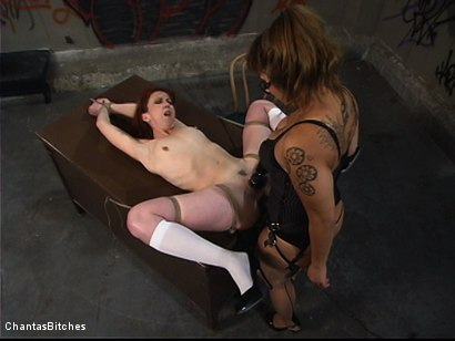 Photo number 11 from DragonLily's Slave shot for Chantas Bitches on Kink.com. Featuring DragonLily and Trinity Post in hardcore BDSM & Fetish porn.