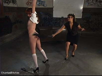 Photo number 5 from DragonLily's Slave shot for Chantas Bitches on Kink.com. Featuring DragonLily and Trinity Post in hardcore BDSM & Fetish porn.