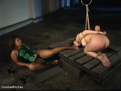 Photo number 12 from An All Asian<br>Lesbian Domination shot for Chantas Bitches on Kink.com. Featuring Kaiya Lynn and DragonLily in hardcore BDSM & Fetish porn.