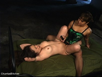 Photo number 8 from An All Asian<br>Lesbian Domination shot for Chantas Bitches on Kink.com. Featuring Kaiya Lynn and DragonLily in hardcore BDSM & Fetish porn.