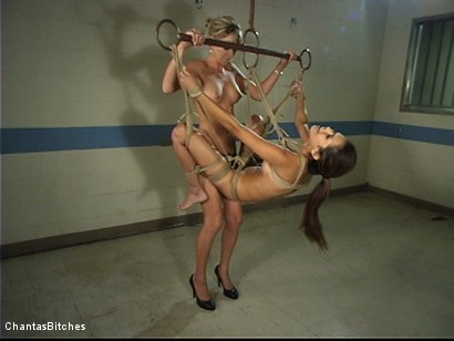Photo number 8 from Treating Miss Daisy shot for Chantas Bitches on Kink.com. Featuring Daisy Marie and Audrey Leigh in hardcore BDSM & Fetish porn.