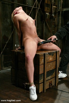 Photo number 5 from Leah Luv shot for Hogtied on Kink.com. Featuring Leah Luv in hardcore BDSM & Fetish porn.