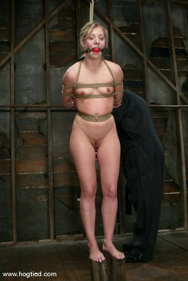 Photo number 8 from Leah Luv shot for Hogtied on Kink.com. Featuring Leah Luv in hardcore BDSM & Fetish porn.