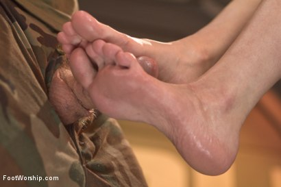 Photo number 10 from Bootlicking Babes: Part Two shot for Foot Worship on Kink.com. Featuring Cherry Torn and Christian Wilde in hardcore BDSM & Fetish porn.