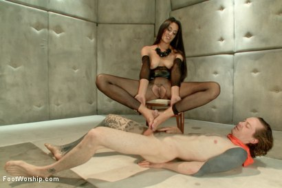 Photo number 14 from Foot Humiliation, Trampling and Latex shot for Foot Worship on Kink.com. Featuring Lyla Storm and Owen Gray in hardcore BDSM & Fetish porn.