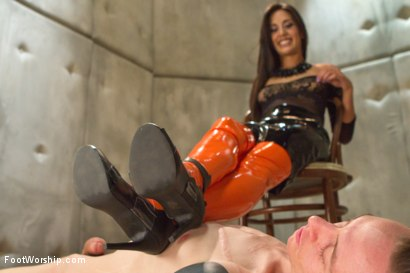 Photo number 7 from Foot Humiliation, Trampling and Latex shot for Foot Worship on Kink.com. Featuring Lyla Storm and Owen Gray in hardcore BDSM & Fetish porn.