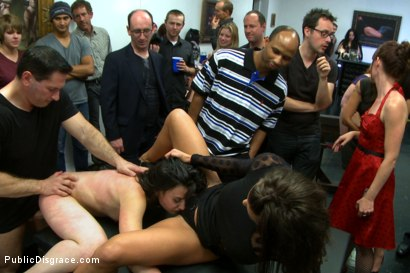 Photo number 5 from First ever porn shoot- amateur cutie takes it all! shot for Public Disgrace on Kink.com. Featuring Amy Faye, John Strong and Ariel X in hardcore BDSM & Fetish porn.