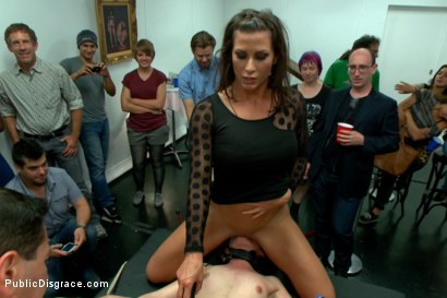 Photo number 13 from First ever porn shoot- amateur cutie takes it all! shot for Public Disgrace on Kink.com. Featuring Amy Faye, John Strong and Ariel X in hardcore BDSM & Fetish porn.