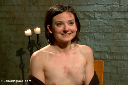 Photo number 15 from First ever porn shoot- amateur cutie takes it all! shot for Public Disgrace on Kink.com. Featuring Amy Faye, John Strong and Ariel X in hardcore BDSM & Fetish porn.