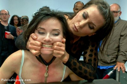 Photo number 1 from First ever porn shoot- amateur cutie takes it all! shot for Public Disgrace on Kink.com. Featuring Amy Faye, John Strong and Ariel X in hardcore BDSM & Fetish porn.