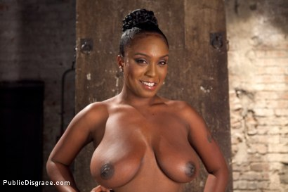 Photo number 1 from Big titted greedy whore fucked in an ally  shot for Public Disgrace on Kink.com. Featuring Karlo Karrera and Layton Benton in hardcore BDSM & Fetish porn.
