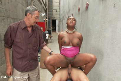 Photo number 10 from Big titted greedy whore fucked in an ally  shot for Public Disgrace on Kink.com. Featuring Karlo Karrera and Layton Benton in hardcore BDSM & Fetish porn.