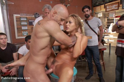 Photo number 12 from Blond slut paraded around the room with a fist in her cunt! shot for Public Disgrace on Kink.com. Featuring Carter Cruise and Astral Dust in hardcore BDSM & Fetish porn.