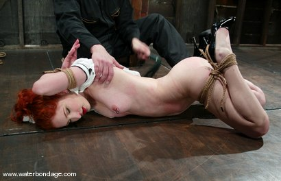 Photo number 3 from Calico shot for Water Bondage on Kink.com. Featuring Calico in hardcore BDSM & Fetish porn.