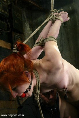 Photo number 11 from Calico shot for Hogtied on Kink.com. Featuring Calico in hardcore BDSM & Fetish porn.