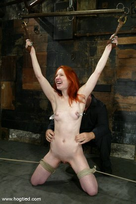 Photo number 13 from Calico shot for Hogtied on Kink.com. Featuring Calico in hardcore BDSM & Fetish porn.