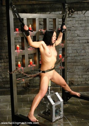 Photo number 9 from Julie Night shot for Fucking Machines on Kink.com. Featuring Julie Night in hardcore BDSM & Fetish porn.