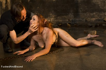 Photo number 6 from Trapped Slave shot for Fucked and Bound on Kink.com. Featuring Bella Rossi and Owen Gray in hardcore BDSM & Fetish porn.