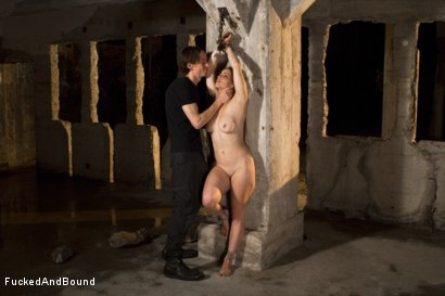 Photo number 9 from Trapped Slave shot for Fucked and Bound on Kink.com. Featuring Bella Rossi and Owen Gray in hardcore BDSM & Fetish porn.