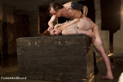 Photo number 8 from Trapped Slave shot for  on Kink.com. Featuring Bella Rossi and Owen Gray in hardcore BDSM & Fetish porn.
