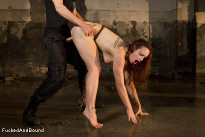 Photo number 10 from Trapped Slave shot for  on Kink.com. Featuring Bella Rossi and Owen Gray in hardcore BDSM & Fetish porn.