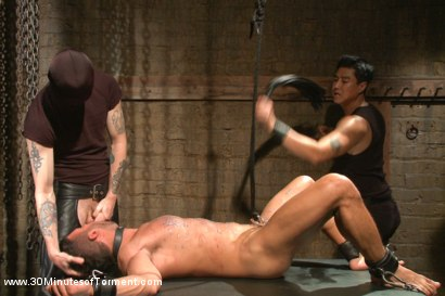 Photo number 11 from Latin hunk Diego Vena brand new to BDSM shot for 30 Minutes of Torment on Kink.com. Featuring Diego Vena in hardcore BDSM & Fetish porn.