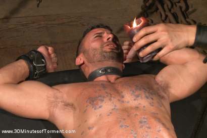 Photo number 10 from Latin hunk Diego Vena brand new to BDSM shot for 30 Minutes of Torment on Kink.com. Featuring Diego Vena in hardcore BDSM & Fetish porn.