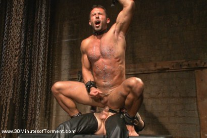 Photo number 14 from Latin hunk Diego Vena brand new to BDSM shot for 30 Minutes of Torment on Kink.com. Featuring Diego Vena in hardcore BDSM & Fetish porn.