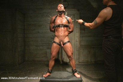 Photo number 7 from Latin hunk Diego Vena brand new to BDSM shot for 30 Minutes of Torment on Kink.com. Featuring Diego Vena in hardcore BDSM & Fetish porn.