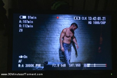 Photo number 1 from Latin hunk Diego Vena brand new to BDSM shot for 30 Minutes of Torment on Kink.com. Featuring Diego Vena in hardcore BDSM & Fetish porn.