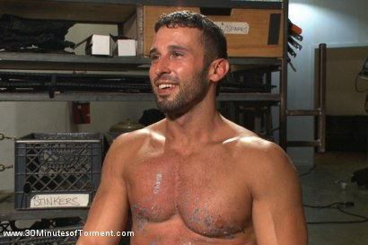 Photo number 15 from Latin hunk Diego Vena brand new to BDSM shot for 30 Minutes of Torment on Kink.com. Featuring Diego Vena in hardcore BDSM & Fetish porn.